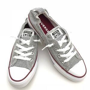 Chambray/Black Stripes Converse Shoreline Sneaker